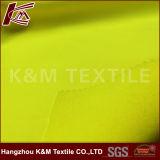 tessuto fluorescente di Softshell della vernice di colore giallo del tessuto del polimero 75D per i vestiti da lavoro