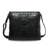 Men Genuine Leather Sling Bag Crocodile Shoulder Messenger Bag