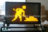 Panneau de messages compacté pour véhicule compacte Panneau de signalisation pour la gestion du trafic