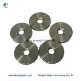 Сталь/металл/латунь CNC OEM подвергая запасные части механической обработке с круглой плитой
