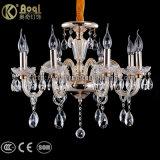 Forma e luz de vidro simples do candelabro