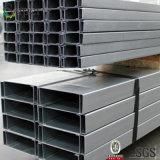 Tamanhos de aço da canaleta em U da alta qualidade de China