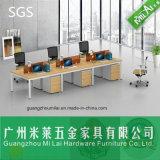 Популярная офисная мебель рабочей станции перегородки офиса с стальной ногой