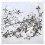 イタリアの金属教会十字のペンダントの数珠の十字架像(IOap226)