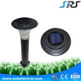 Lampe solaire élevée de vente chaude de pelouse du lumen DEL avec le détecteur de mouvement