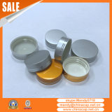 Kundenspezifische Aluminiumplastiküberwurfmutter für das Verpacken