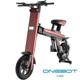 """Bicicleta profissional que dobra o """"trotinette"""" elétrico com a bateria dobro de Panasonic"""
