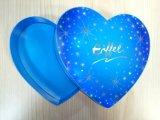 Boîte de papier à sucrerie en forme de coeur faite sur commande de mariage