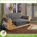 Couverture réversible de sofa de suède de sofa de polyester micro de Slipcover