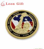 Impressão promocional personalizada / Logotipo laser Real Leather Keychain
