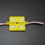 4SMD5630 el módulo blanco 36*36 de la inyección del color LED impermeabiliza el módulo del LED