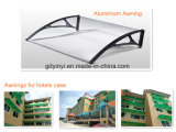 80X100cm Outdoor DIY Durable Polycarbonate Aluminium Auvent (YY800-F)