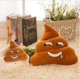 Cuscino farcito molle divertente di Emoji di figura delle feci della peluche del Emoticon