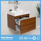 Meubles de salle de bain populaires avec meuble miroir et tiroir en métal à cheval
