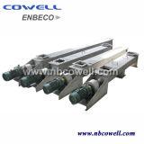 모터와 변속기를 가진 CNC 기계 나선 나사형 콘베이어