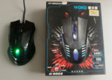 2400dpi Haut-End 6D LED Gaming Optical Wired Mouse Jo29