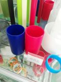 Verdrängenfarbiges Plastik-ABS Rohr /Tube für Spielwaren