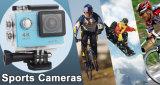 Macchina fotografica subacquea della macchina fotografica di sport della videocamera della camma del casco