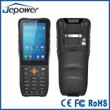 Scanner tenu dans la main raboteux de code barres de l'écran tactile de Ht380k PDA