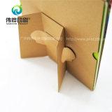Calendário de mesa novo da impressão do papel de embalagem do projeto