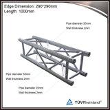 Легковес квадрат 12 дюймов алюминиевые/ферменная конструкция коробки с сверхмощный
