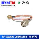 Rückmännlicher Verbinder der polaritäts-TNC für WiFi Antenne