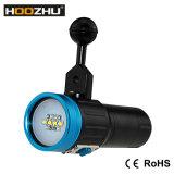 Torcia elettrica chiara di video colore chiaro LED del CREE LED *12 cinque di immersione subacquea di Hoozhu V13 per il video di immersione subacquea