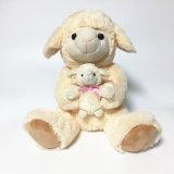 Stuk speelgoed van de Pluche van de Kwaliteit van Ce van het mamma en van de Baby het Zachte Gevulde Dierlijke