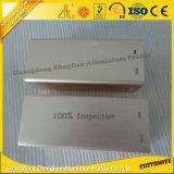 Perfil de aluminio trabajado a máquina CNC de la alta calidad con aluminio de los muebles