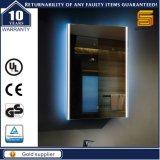 Specchio illuminato LED della stanza da bagno di Frameless del certificato dell'UL