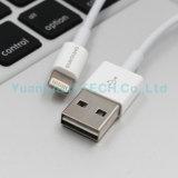 iPhone 7/6/5를 위한 USB 케이블을 비용을 부과하는 본래 Mfi 뒤집을 수 있는 8pin 번개 데이터