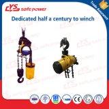 cargaison de levage d'élévateur à chaînes de l'air 10t avec le chariot utilisé pour le mien, pétrole et produit chimique, etc.