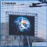 Visualización de LED al aire libre a todo color del consumo de una energía más inferior para hacer publicidad