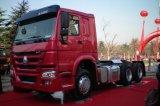 Sinotruk HOWO 6X4 de Vrachtwagen van de Tractor van 420 PK