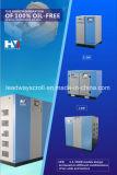 Anerkannter zahnmedizinisches Geräten-ölfreier Rolle-Luftverdichter
