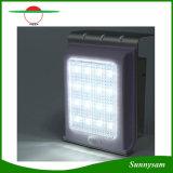 Lampe de mur extérieure solaire de chemin de réverbère de la lumière 16 DEL de lampe de DEL de détecteur d'admission imperméable à l'eau solaire de corps