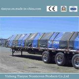 Het Met een laag bedekte Geteerde zeildoek van de Stijl van Panama pvc voor Op zwaar werk berekende het Gebruik van de Dekking van de Vrachtwagen