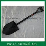 Shovel Round Pointed Welded Steel Handle Shovel Hand Tool
