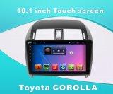 Lecteur DVD androïde Navigationfor Toyota Corolla de véhicule de système écran tactile de 10.1 pouces avec GPS/Bluetooth/TV1