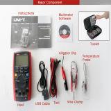 Multímetro Handheld de la unidad Ut71e de Digitaces LCD Multimetre de las ventas del Internet