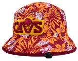 2017の高品質の流行の花のバケツの帽子の女性帽子