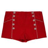 Circuits sexy rouges de loisirs de femmes de vêtement de mode en stock