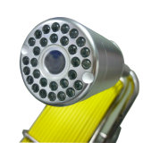 ファイバーガラスケーブル120mのガラス繊維ケーブルが付いている防水ビデオ管の点検カメラシステムCr110-7y