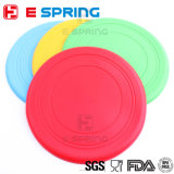 Durable Flexible Frisbee Training Toys Silicone Pet Plate