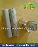 Сплетенный нержавеющей сталью цилиндр ячеистой сети
