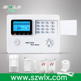Pressione o botão Sistema de alarme GSM e PSTN com operação do telefone inteligente
