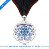 Medaglia d'argento dello smalto di 2D pallacanestro di sport del ricordo per i UAE