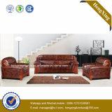 現代オフィス用家具の本革のソファのオフィスのソファー(HX-CF020)
