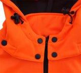 Chaqueta anaranjada de trabajo vendedora caliente del sudor del Vis del color hola