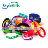 Bande de silicone colorée personnalisée pour adulte